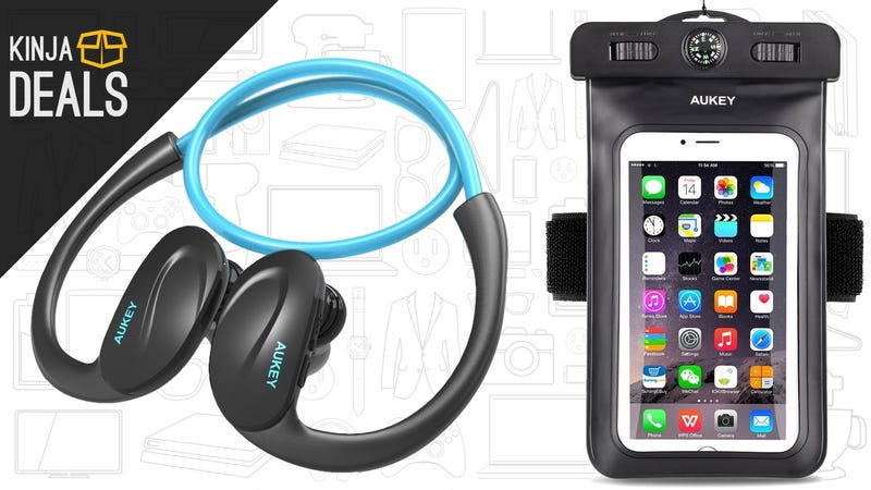 Illustration for article titled Go For a Jog With This Bluetooth Headphone/Smartphone Armband Combo Deal