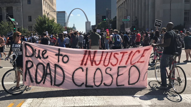 Protests continue in St Louis