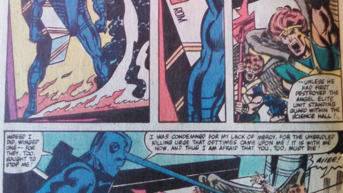 ROM: Spaceknight Might Be The Best Science Fiction Comic Of All Time