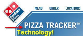 Illustration for article titled Domino's Online Pizza Tracking Accurate to 40 Seconds: Too Bad Their Pizza Sucks