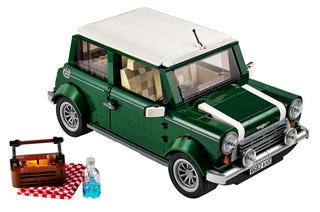 Illustration for article titled The new Lego Mini Cooper is another must buy set