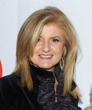 Huffington Post founder Arianna Huffington