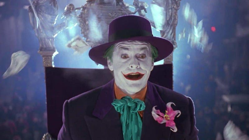The Joker in Batman (1989).