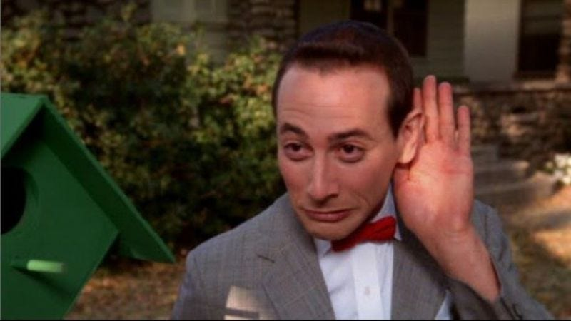 "Illustration for article titled Lawsuit? Did somebody say lawsuit?: Paul Reubens puts a stop to ""Pee-Wee Over Louisville"" day"