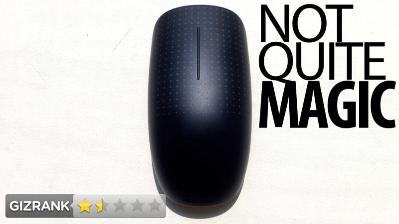 Illustration for article titled Microsoft Touch Mouse Lightning Review: It's Not Magic