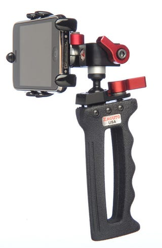 Illustration for article titled Zgrip iPhone Pro Stabilizer: A Bit Too Nice for Even the iPhone