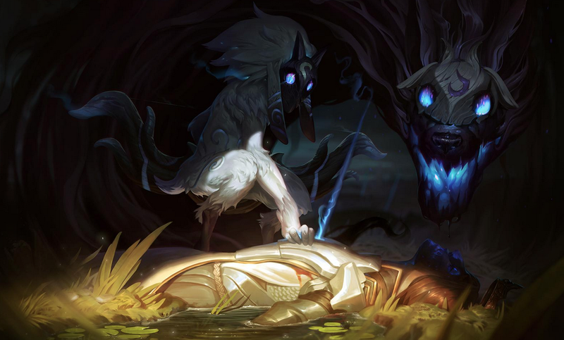 Illustration for article titled New League of Legends Champion 'Kindred' Announced While Yannick LeJacq Is On Vacation