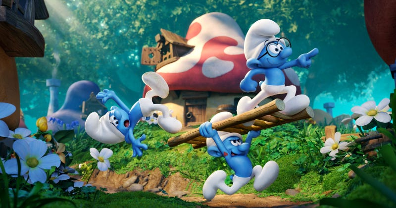Illustration for article titled Smurf Help Me, I'm Actually Kind of Excited About a New Smurfs Movie