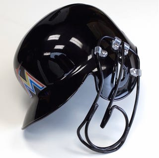 Illustration for article titled Giancarlo Stanton Will Wear This Cool Face Guard