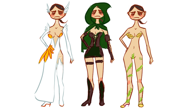 Illustration for article titled Thirteen Types of Ridiculous Female Armor In MMORPGs