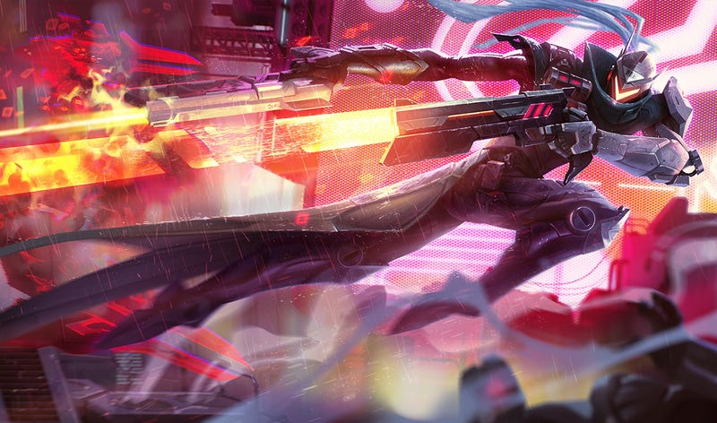Illustration for article titled These New Robo Skins For League Of Legends Are Super Cool