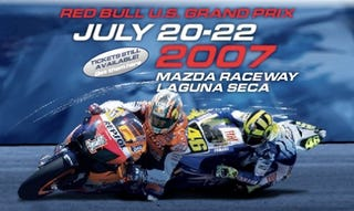 Illustration for article titled MotoGP at Laguna Seca, 2007