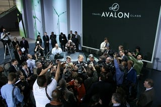 Illustration for article titled Somewhere Under This Media Frenzy Is The New Toyota Avalon
