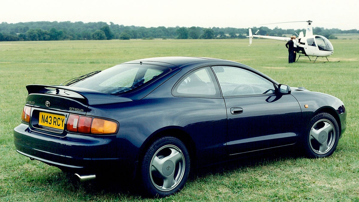 Toyota toyota celica 92 : I Always Felt America Got Cheated Because We Never Got This Celica ...