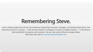 Illustration for article titled This Is Apple's Steve Jobs Tribute