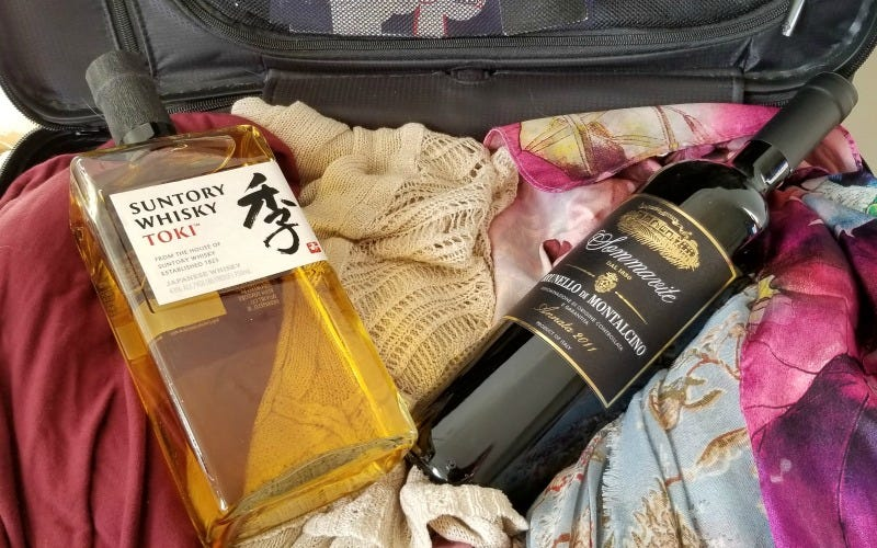 How To Successfully Pack Beer And Wine In Your Suitcase