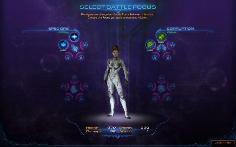 Illustration for article titled New StarCraft II: Heart of the Swarm Screen Shots, Annotated For Your Pleasure