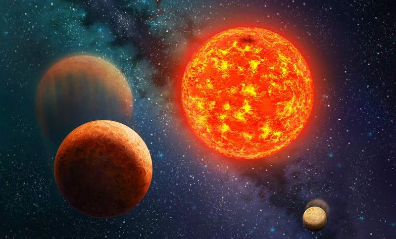 Illustration for article titled Kepler-138b Is Now The Lightest Exoplanet Ever Discovered