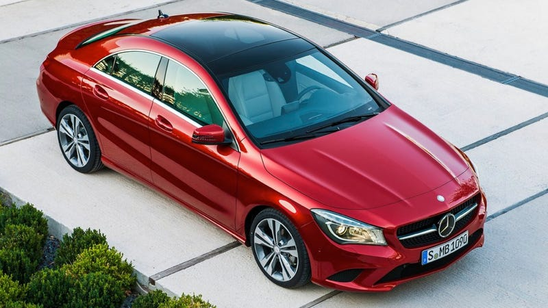 Illustration for article titled How Much Are All The Options On The Mercedes CLA?