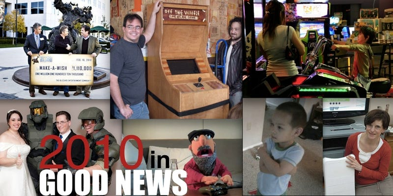 Illustration for article titled 2010: The Year In Good (Video Game) News