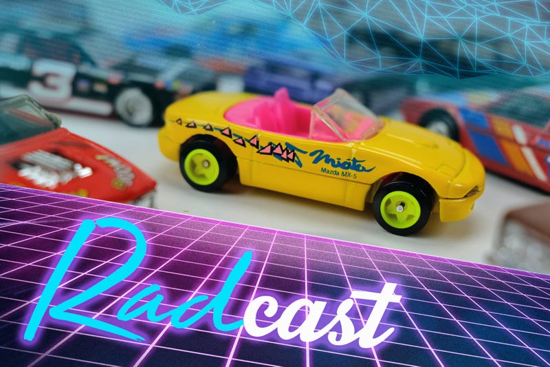 Illustration for article titled RADcast 2018: 1980s-1990s 1/64th scale Radness