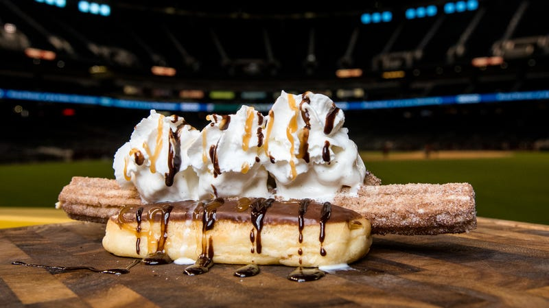 Arizona Diamondbacks's Churro Dog, photographed at Chase Field in 2017