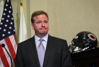 NFL Commissioner Roger Goodell in 2012Alex Wong/Getty Images