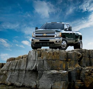 Illustration for article titled 2011 Chevrolet Silverado HD: Press Photos