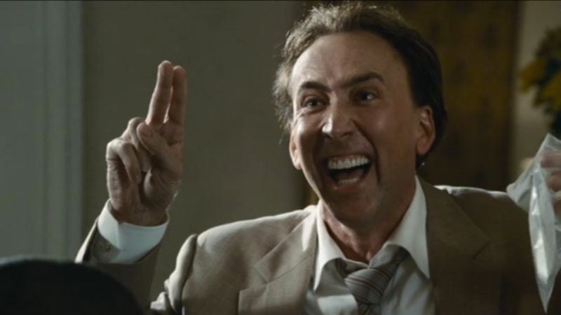 Nic Cage in Bad Lieutenant: Port Of Call New Orleans