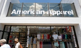 Clothing stores like american apparel