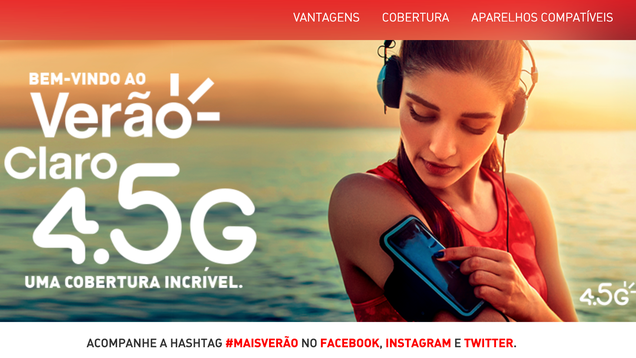 Brazilian Carrier Comes Up With Tricksy  4.5G  Logo—and Now It Might Get Fined