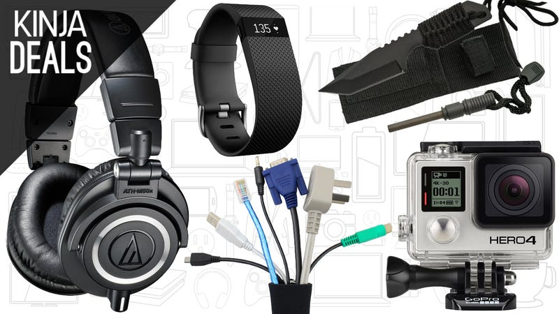 Illustration for article titled Today's Best Deals: Your Favorite Headphones, Best Ever GoPro Deal, and More