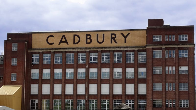 The Cadbury's Chocolate Factory in Birmingham, England