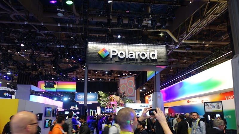 Polaroid's Tragic CES Booth is What Happens When a Brand Dies