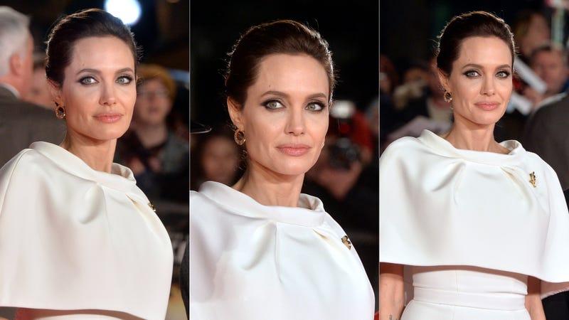Illustration for article titled Angelina Jolie, Capleted Crusader