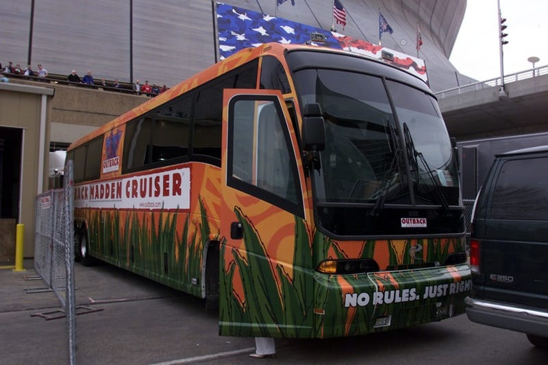 Illustration for article titled Madden Cruiser: Saying Farewell To John Madden's Awesome Bus