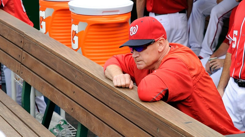Illustration for article titled The Washington Nationals Certainly Seem To Hate Matt Williams