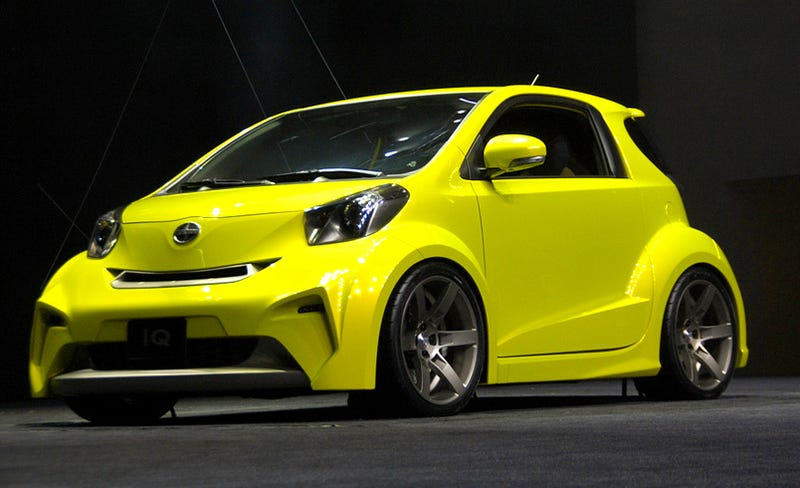 Illustration for article titled Scion iQ Concept: Three-Seat Smart Fighter