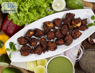 Illustration for article titled Online Stores In Delhi Now Offer Home Delivery Of Tasty Fish Pakoras And Tikkas