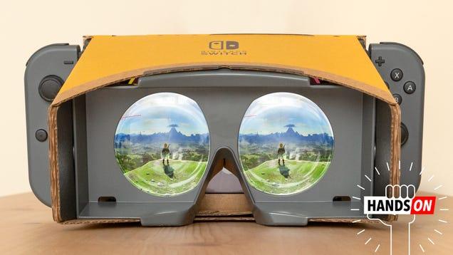 Nintendo s VR Upgrade for Zelda Messed Me Up