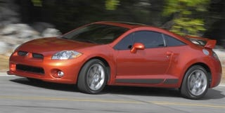 Illustration for article titled 2008 Mitsubishi Eclipse SE: But Will It Block Out the Sun?