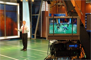 "Illustration for article titled ESPN NFL Sunday Countdown Now Features Virtual ""Augmented Reality"" Madden Players"