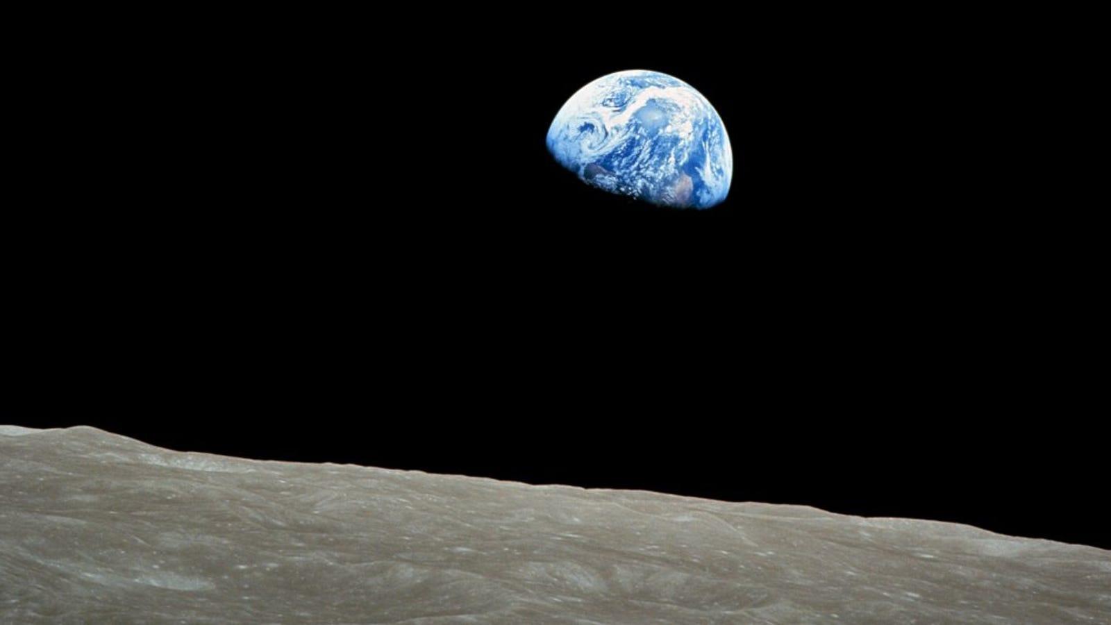 50 años de Earthrise: cómo se hizo la icónica imagen que cambió nuestra percepción de la Tierra