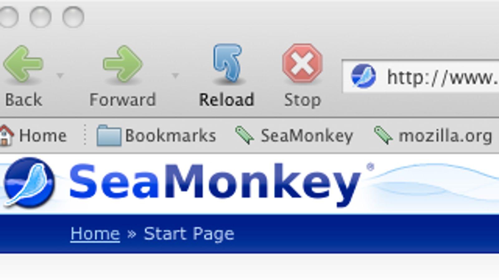 Mozilla SeaMonkey Updated to 2 0