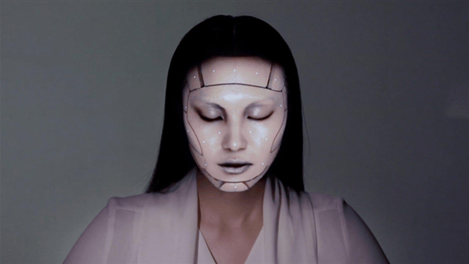 """Así transforma el rostro este """"maquillaje digital"""" en tiempo real"""