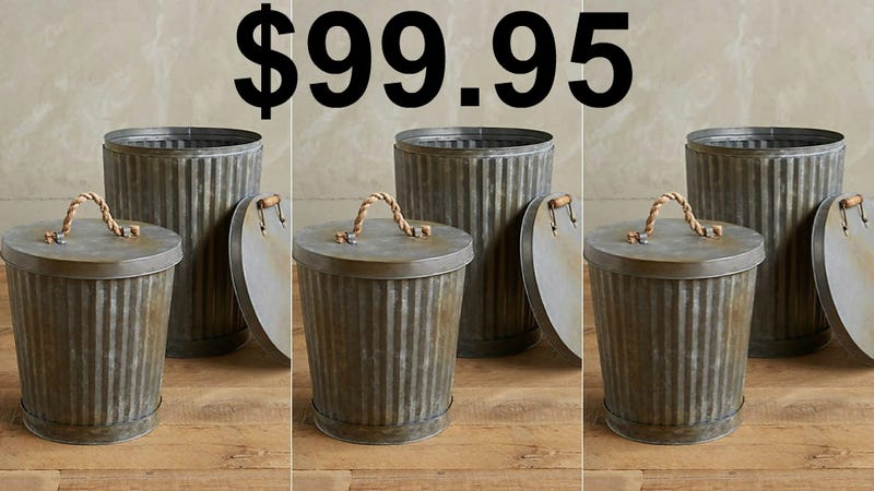 Illustration for article titled Oscar the Grouch Hangs Out in Recycling Bins Now but Anthro Is Selling a $100 Trash Can