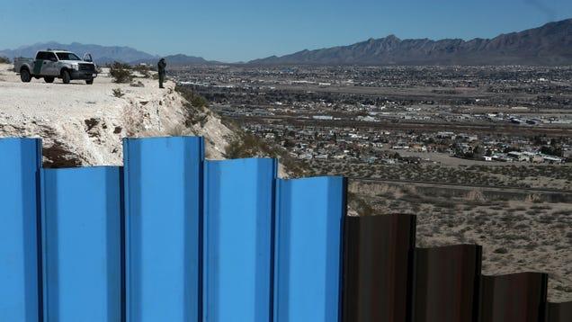 Donald Trump s DHS Waives Environmental Regulations for His Dumb, Racist Border Wall
