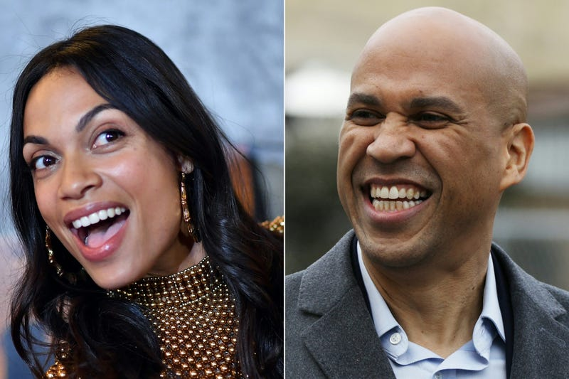 Illustration for article titled Make It Last Forever: Cory Booker Says Relationship With Rosario Dawson Is the Real Deal