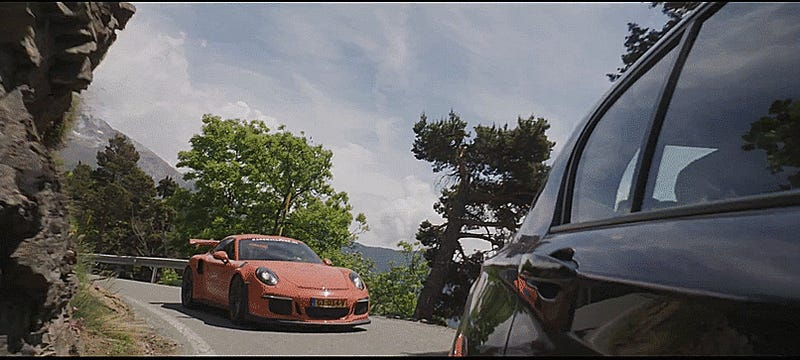 Stop What You're Doing And Watch Fast Cars Tackle 25 Incredible Alpine Passes