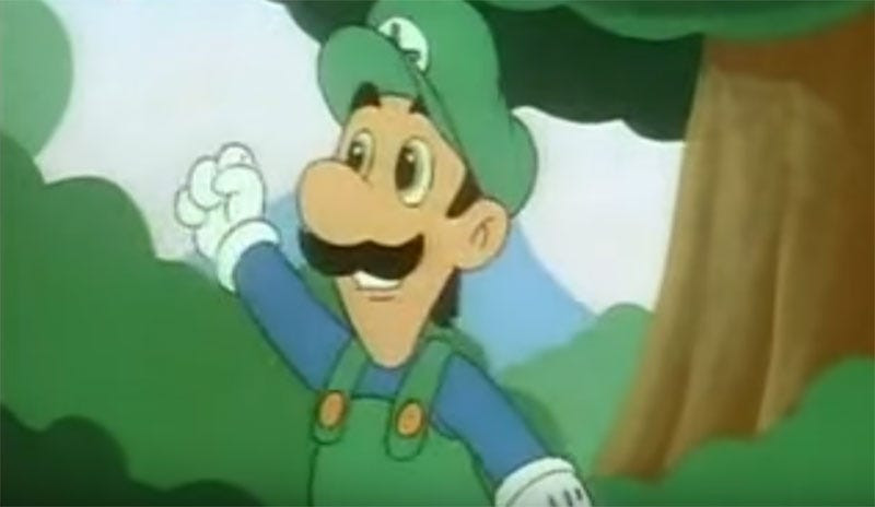 canadian actor and comedian tony rosato who provided the voice for luigi in the animated series the adventures of super mario bros
